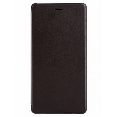 Xiaomi Redmi 3 Leather Flip Case Black