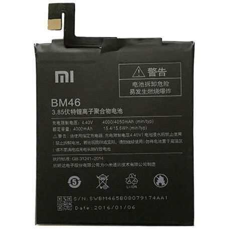 xiaomi redmi note 3 battery bm46 black full