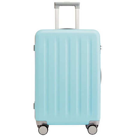"RunMi 90 Points Trolley Suitcase 28"" Macaron Mint Green"