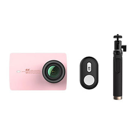 Xiaomi Yi 4K Action Camera 2 Pink Bluetooth Kit | xiaomimi.com