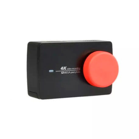 Yi Action Camera Universal Protective Lens Cover Red