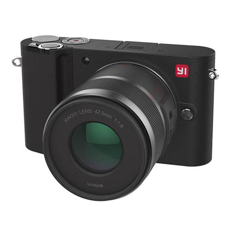 Yi M1 Mirrorless Digital Camera Prime Lens Chinese Version Black
