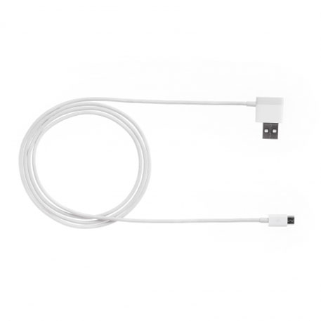 ZMI Micro USB Cable With Extra USB Port 120cm White