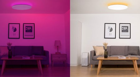 New Smart LED Ceiling Lamp by Yeelight