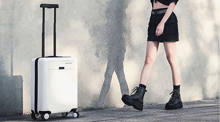 CowaRobot Robotic Suitcase That Follows The User