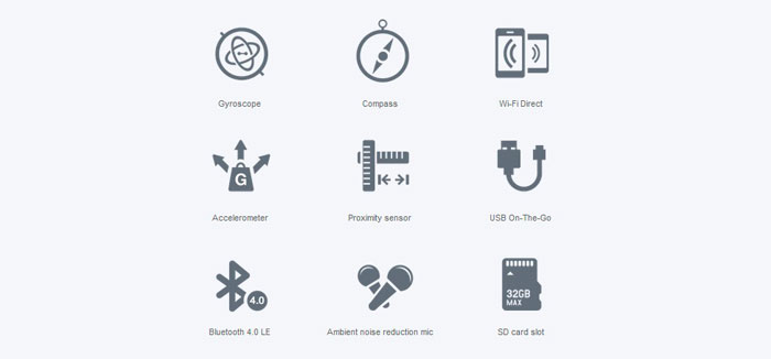 Xiaomi Redmi Note with simplified menu