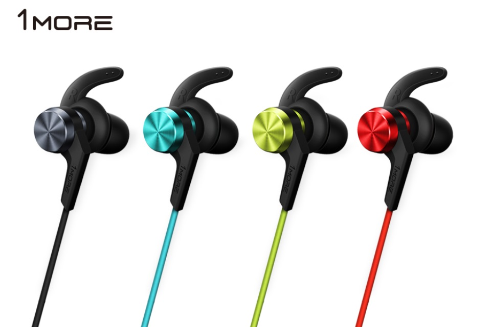 1more ibfree bluetooth in ear headphones red full. Black Bedroom Furniture Sets. Home Design Ideas