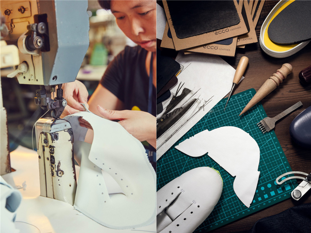 RunMi 90 Points Leather Shoes producing