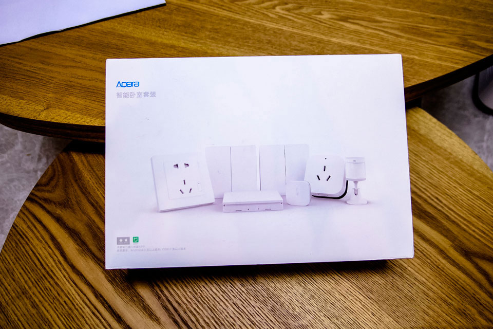Aqara Bedroom Set Packaging