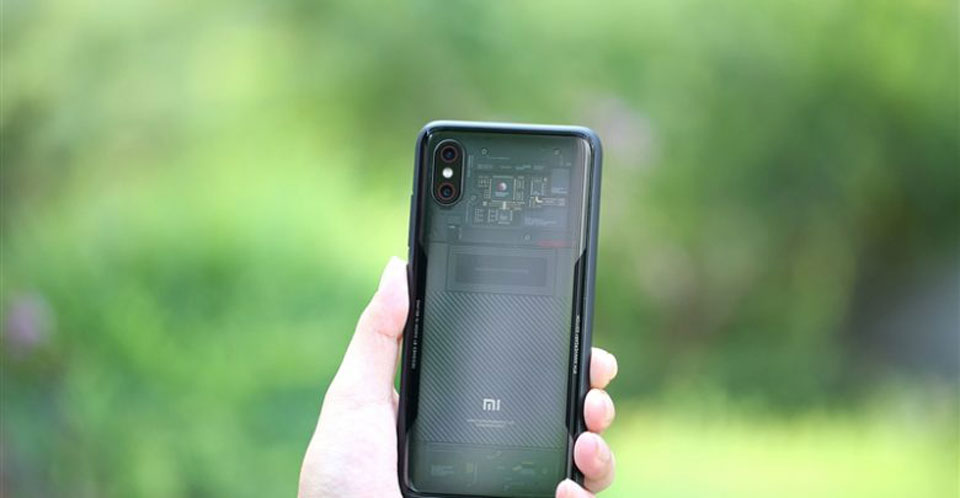 Mi8 Explorer Edition  back panel