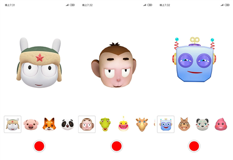 Mi8 Explorer Edition  Animoji