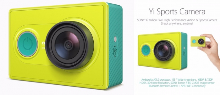 Xiaomi Yi Action Camera Green Yi sport