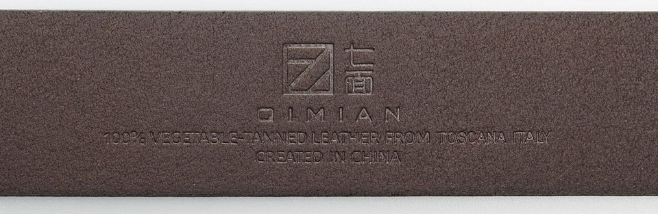 QIMIAN Cow Leather Belt Photo 4