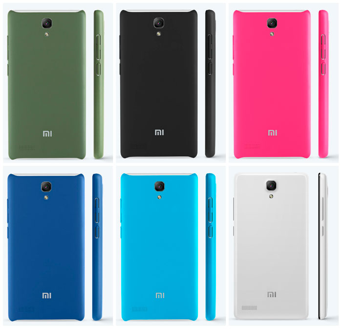 6 colors for model Redmi Note 4G LTE