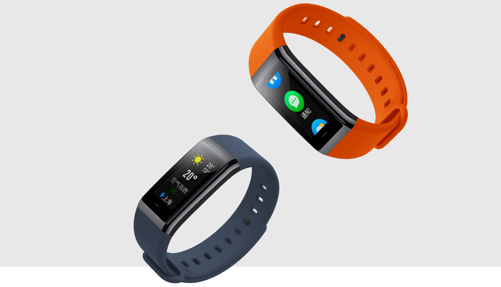 Different colors of Xiaomi Amazfit Cor Health Band Black