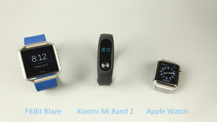 ... and FitBit Blaze Comparison — Pulse Measurement Test | Xiaomi-Mi.com
