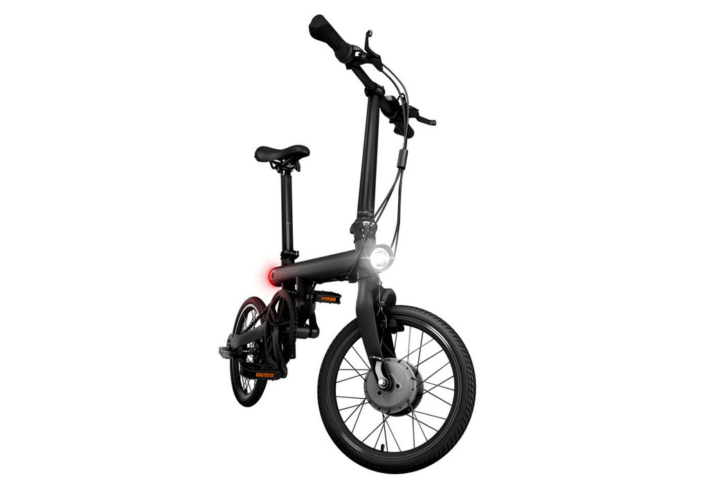 Xiaomi Qicycle Folding Electric Bike Black 11street