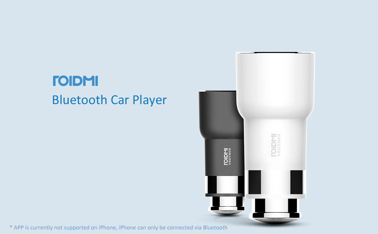 XIAOMI MI Roidmi 1, 2S, 3S USB Car Charger Bluetooth Music Player