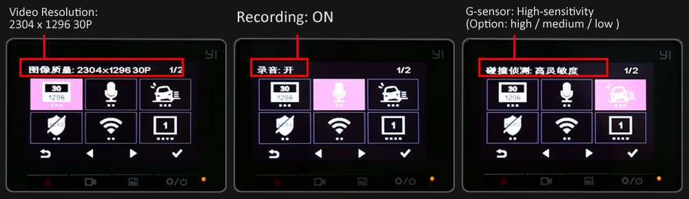 Xiaomi Mi Xiaoyi Yi Smart Car Dvr Ca End 1032016 315 Pm