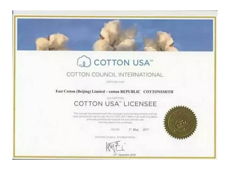 USA certification